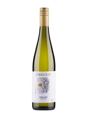 2015 Cooks Lot Allotment No. 333 Riesling, Orange