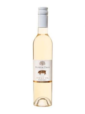 2016 Pepper Tree The Sticky Pig Pinot Gris 375ml Half Bottle, Wrattonbully